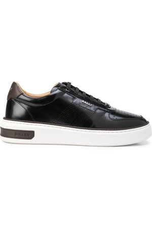 Bally Matteus perforated low-top sneakers