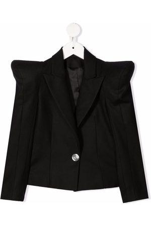 Balmain Kids Structured-shoulder blazer