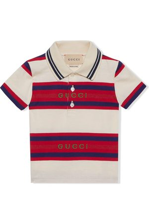 Gucci Polo Shirts - Striped polo T-shirt