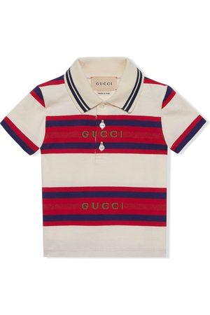 Gucci Striped polo T-shirt