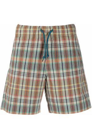Paul Smith Men Bermudas - Plaid-check print shorts