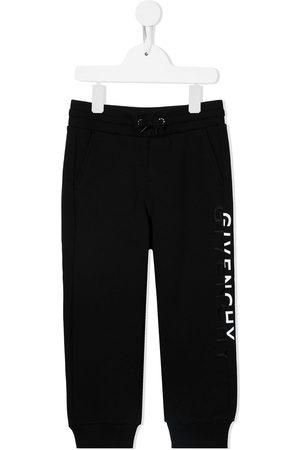 Givenchy Kids Logo-print straight joggers