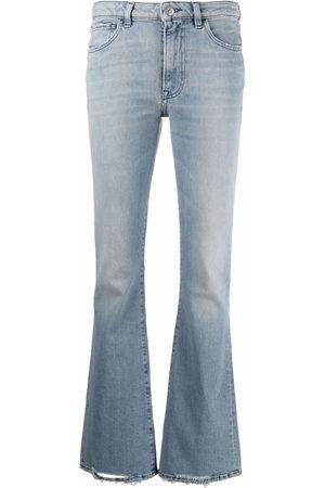 3x1 Farrah mid-rise flared jeans