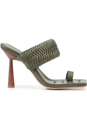 GIA BORGHINI Women Sandals - Rosie woven strap sandals