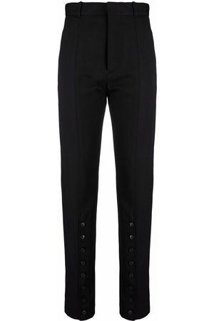 Y / PROJECT High-waisted slim fit trousers