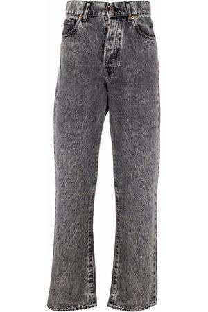 3x1 High-rise straight-leg jeans - Grey