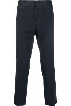 PT01 Men Formal Pants - Cropped tailored trousers