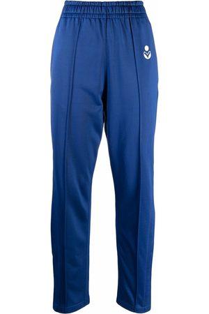 Isabel Marant Women Sports Pants - Logo tracksuit bottoms