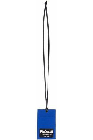 Alexander McQueen McQueen Tag lanyard-strap cardholder