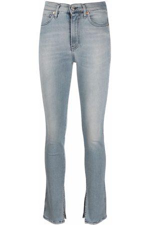 3x1 Women Skinny - Slit-hem skinny jeans