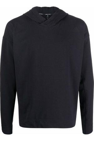 adidas Yoga logo-print hoodie