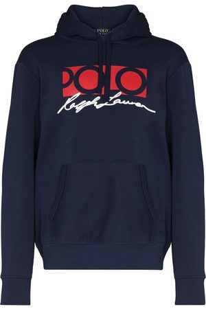 Polo Ralph Lauren Signature-print hoodie