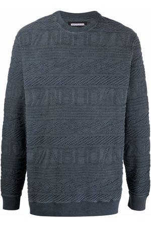 NEIGHBORHOOD Jacquard knit cotton pullover