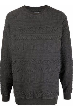 NEIGHBORHOOD Jacquard knit cotton pullover - Grey