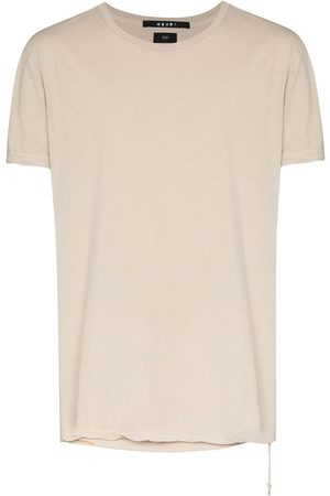 Ksubi Sign Of The Times Seeing Lines logo-print T-shirt - Neutrals