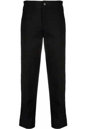 TWINSET Straight-leg cropped trousers