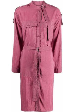 Kenzo Cargo-pocket shirt dress