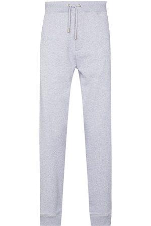 Helmut Lang 3D logo cotton track pants - Grey