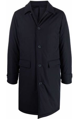Officine Generale Single-breasted long-sleeved coat