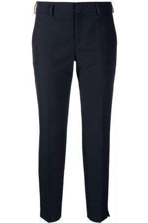 Pt01 New York slim stretch-cotton trousers