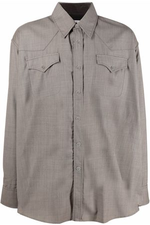 Our Legacy Ranch-cut longsleeved shirt - Grey