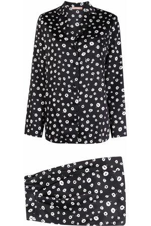12 STOREEZ Floral-print shorts suit