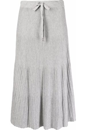 Michael Michael Kors Drawstring pleated skirt - Grey