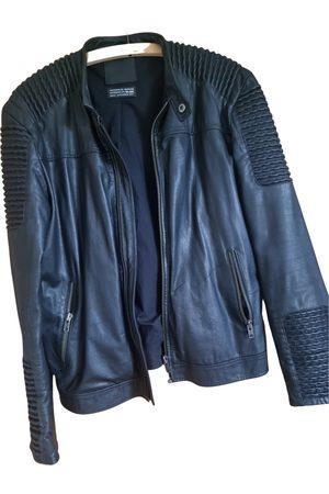 JACK & JONES Men Gilets - Leather vest