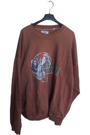 Levi's Camel Cotton Knitwear & Sweatshirt