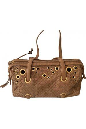 Bottega Veneta Camel Leather Handbags
