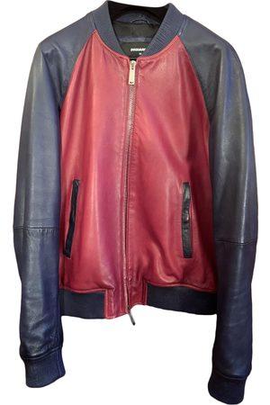 Dsquared2 Multicolour Leather Jackets