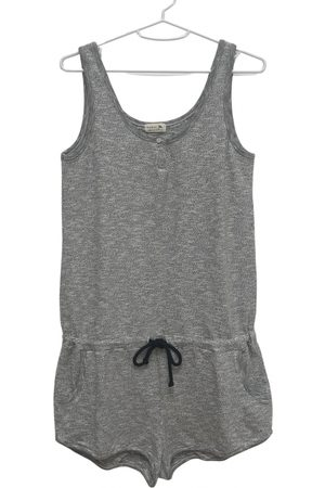 Soeur Grey Cotton Jumpsuits