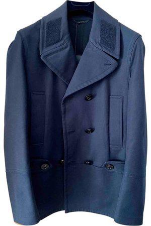 VALENTINO GARAVANI Navy Cotton Coats