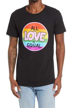 H3 Sportgear Men's All Love Is Equal Graphic Pride Tee