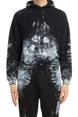 Balenciaga Men's Painter Cotton Hoodie