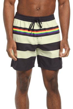 Vans Men's Pride Stripe Board Shorts