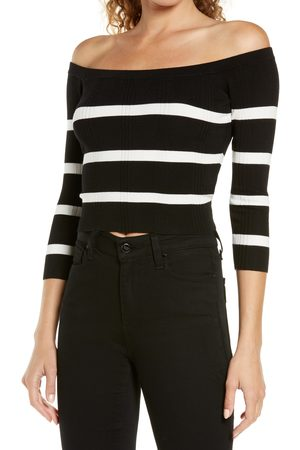 L'Agence Women's Conner Off The Shoulder Sweater