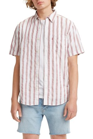 Levi's Men's Sunset Stripe Short Sleeve Button-Up Shirt