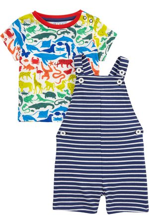 Boden Infant Boy's Kids' Jersey T-Shirt & Overalls Set