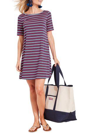 vineyard vines Women's Sankaty Stripe Knit Swing Dress
