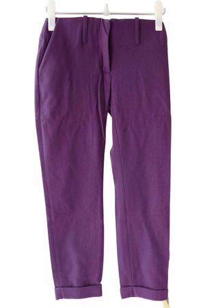 Acne Studios Women Straight Leg Pants - Wool straight pants
