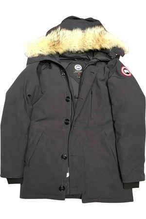 Canada Goose Navy Synthetic Coat