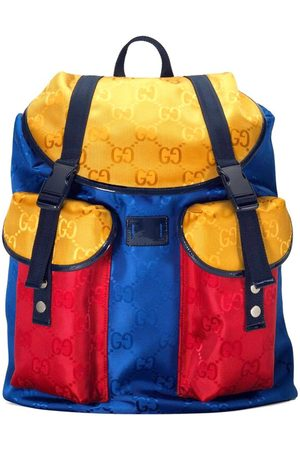 Gucci Kids - , and Colourblock GG All Over Backpack - Unisex - One Size - - Backpacks