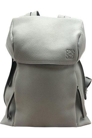 Loewe Grey Leather Bags