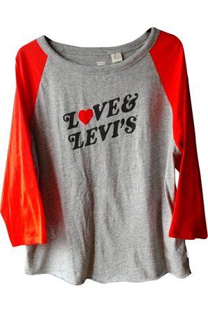 Levi's Women Tops - Grey Cotton Top