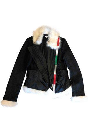 FAITH CONNEXION Grey Leather Jackets