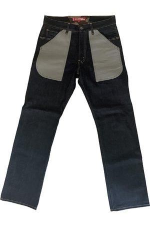 JUNYA WATANABE Navy Cotton Jeans