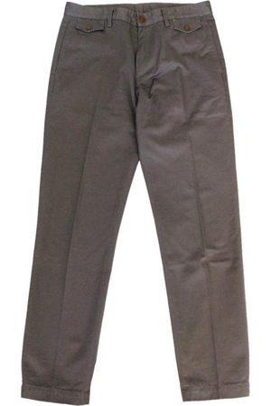 Vivienne Westwood Grey Cotton Trousers