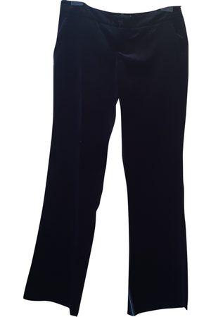 Byblos Women Straight Leg Pants - Velvet straight pants