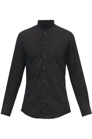 Dolce & Gabbana Stand-collar Cotton-poplin Shirt - Mens